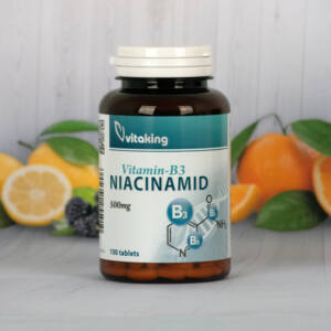Vitaking Niacinamid (B3 vitamin) 500 mg