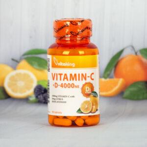 Vitaking C-1000 + D-4000 komplex