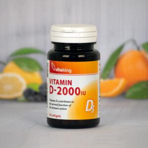 Vitaking D3-vitamin 2000NE