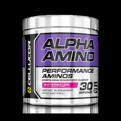 CELLUCOR ALPHA AMINO 366G + ajándék C vitamin