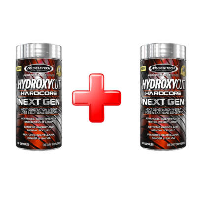 Muscletech Hydroxycut Hardcore Next Gen 2db (7590/db)