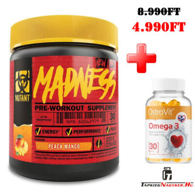 PVL Mutant Madness 30adag +ajándék omega 3