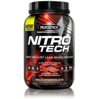MUSCLETECH - NITRO TECH  907 G + ajándék C vitamin