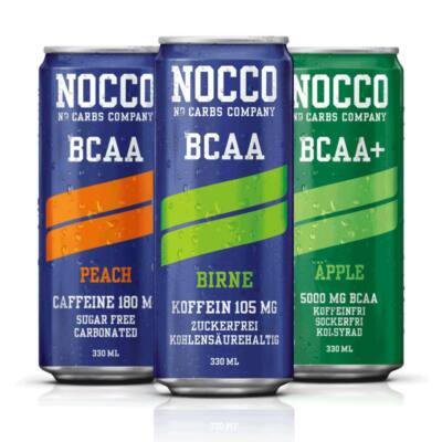 Nagyker Nocco Bcaa+Caffeine 330ml
