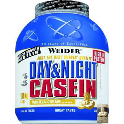WEIDER DAY &NIGHT CASEIN 1,8 KG