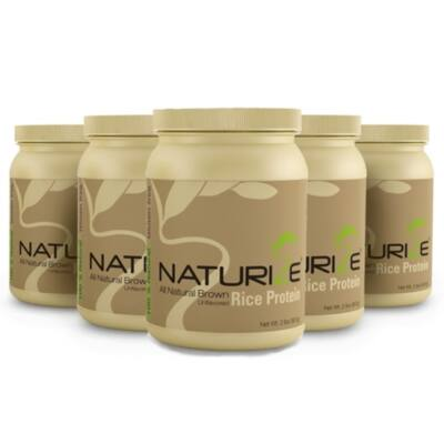 NATURIZE - Barna rizs fehérje - 907 gr