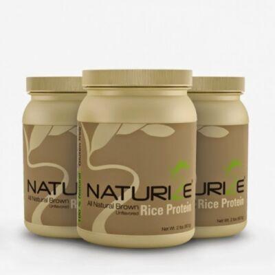NATURIZE - Barna rizs fehérje - 454 gr