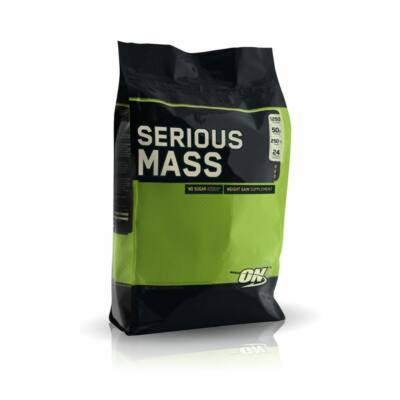 Optimum Nutrition - Serious Mass 5,6kg +ajándék C Vitamin