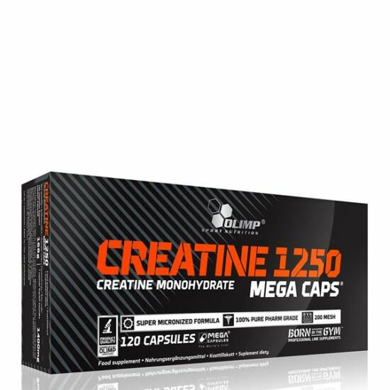 OLIMP SPORT NUTRITION - CREATINE MEGA CAPS 1250 - 120 KAPSZULA