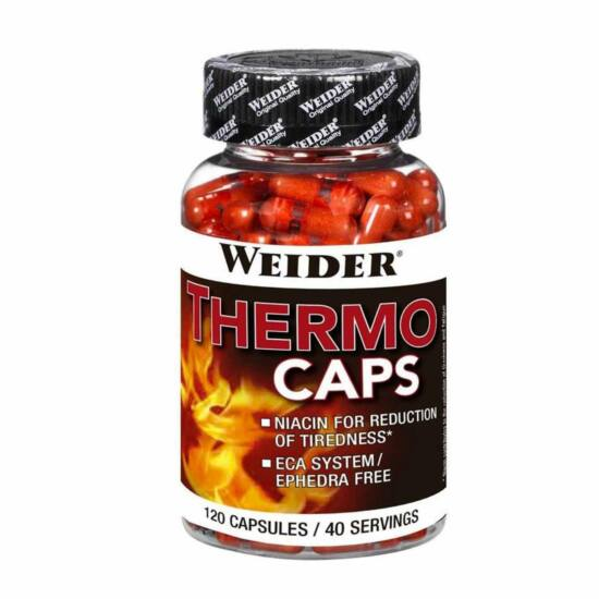 Weider THERMO CAPS 120tab