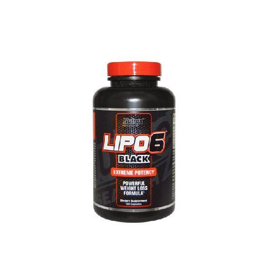 Nutrex Lipo6 Black 120 capsula