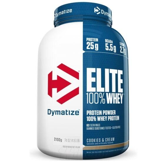 Dymatize Elite 100% Whey New - 2100g Vanilia