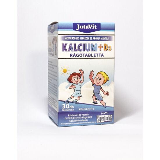 JutaVit KALCIUM +D3 rágótabletta - 30db