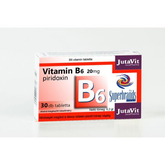 JutaVit B6 Vitamin 20mg 30db