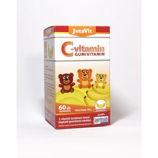 JutaVit C-vitamin Gumivitamin 60db - Banán