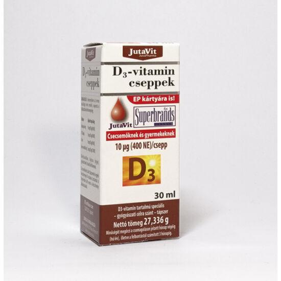 JutaVit D3 vitamin csepp 30ml