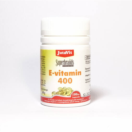 JutaVit E-vitamin 400mg - 100db