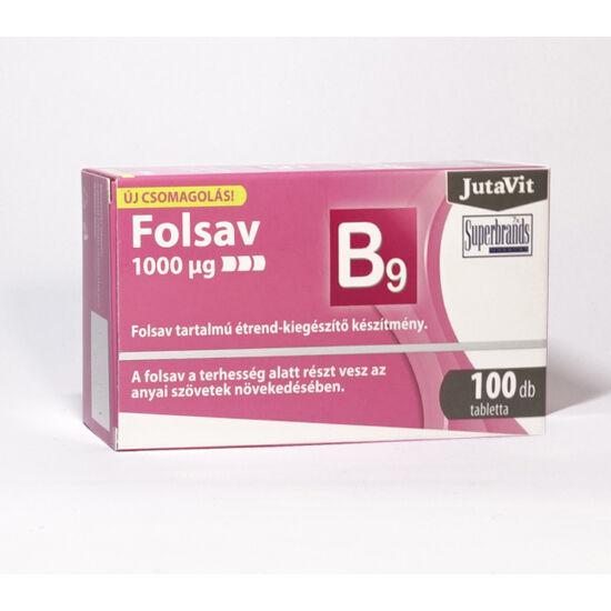 JutaVit Folsav 1000µg - 100 tabletta