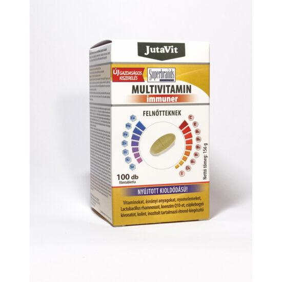 JutaVit Multivitamin Immuner Felnőtteknek – 100db