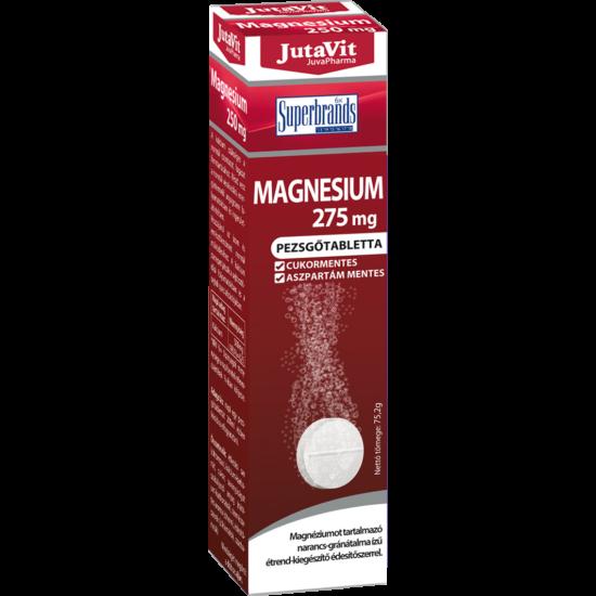 JutaVit Magnesium 275mg pezsgőtabletta 16x