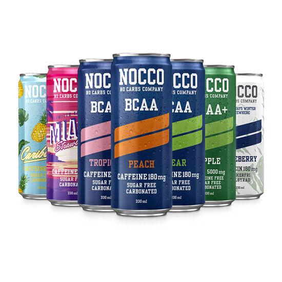 Nagyker Nocco Bcaa+ Koffein 330ml Eper
