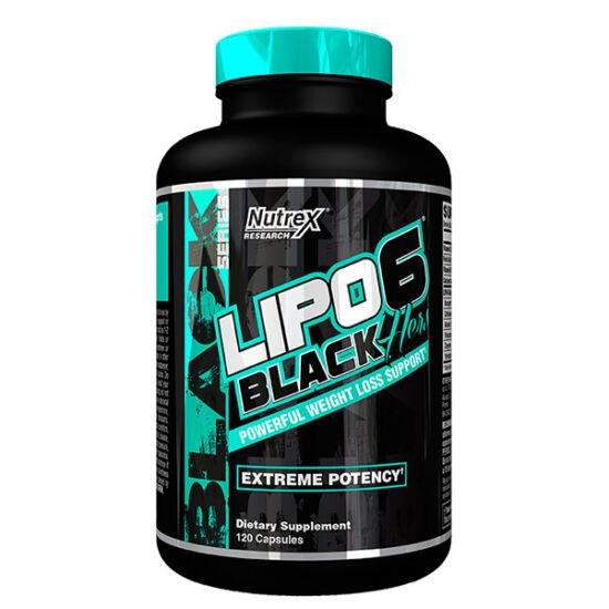Nutrex Lipo 6 Black Hers 120 kapszula