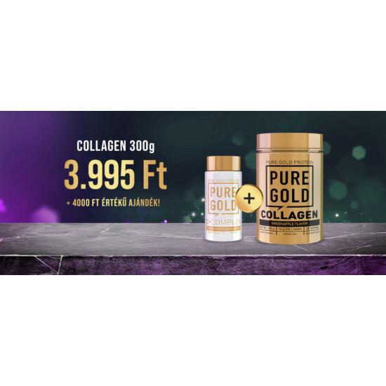 PureGold 1 db Collagen 300g vásárlása esetén + 1 db C-Complex 100 caps ingyen!