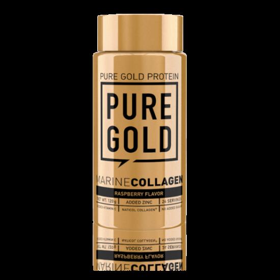 PureGold Hidrolizált Hal Collagen Raspberry 120g
