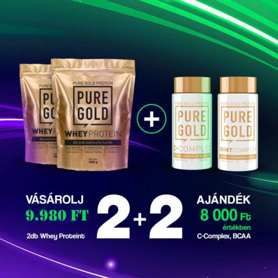 PureGold 2 db Protein 1000g vásárlása esetén + 1 db BCAA 2:1:1 90 caps + 1 db C-Complex ingyen!