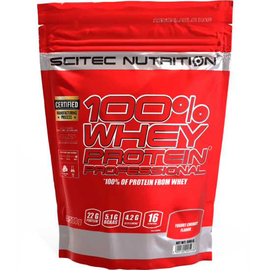 Scitec Nutrition Scitec 100% Whey Protein Professional 500g