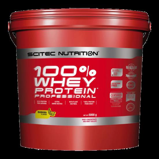 Scitec Nutrition 100% Whey Protein Professional - 5000g + ajándék C vitamin