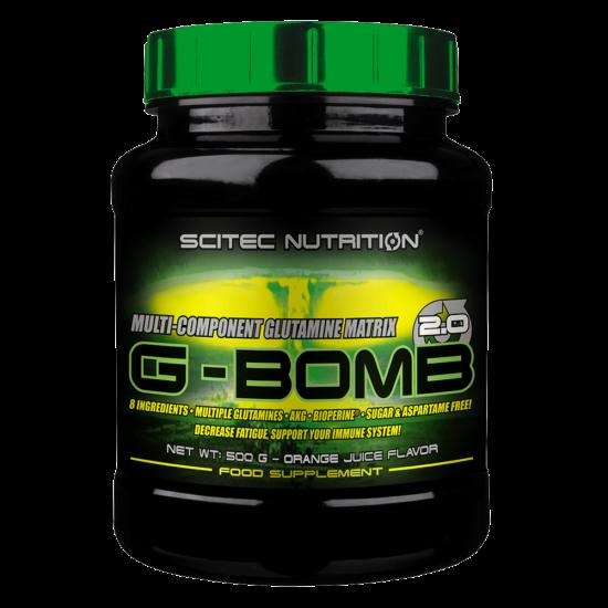 Scitec G-Bomb 2.0 (500g) Ice Tea Citrom