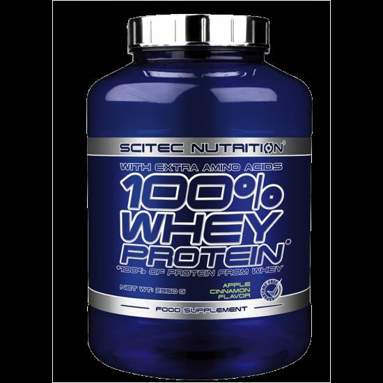 Scitec Nutrition 100% Whey Protein - 2350g Vanilia