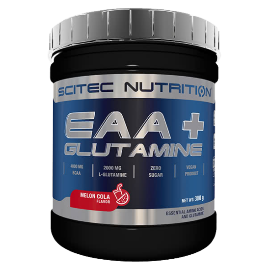 Nagyker Scitec Nutrition EAA+ Glutamine por 300g Pink Lemonade