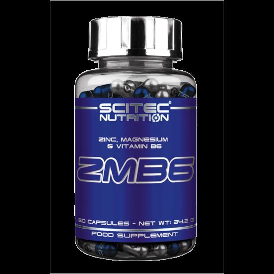 Scitec Nutrition - Zmb6 - Zinc, Magnesium & Vitamin B6 - 60 Kapszula