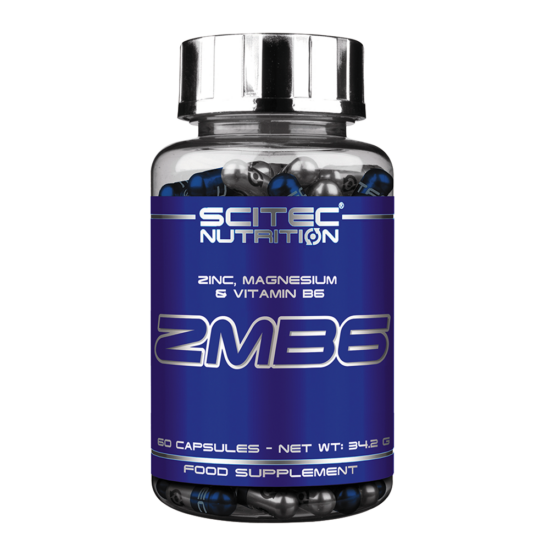 Nagyker Scitec Nutrition - Zmb6 - Zinc, Magnesium & Vitamin B6 - 60 Kapszula