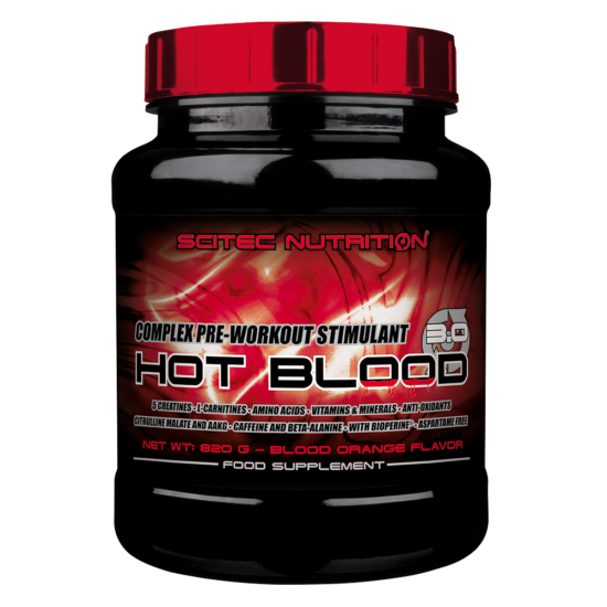Scitec Hot Blood Hardcore (700g) Piros Gyumolcs