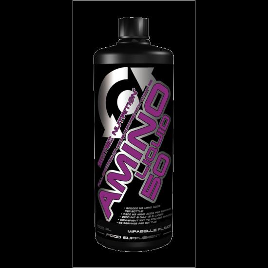 Scitec Nutrition Amino Liquid 50 1000ml + ajándék C vitamin