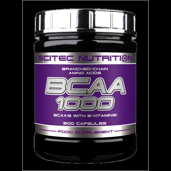 Scitec Nutrition BCAA 1000 300db  + ajándék C vitamin