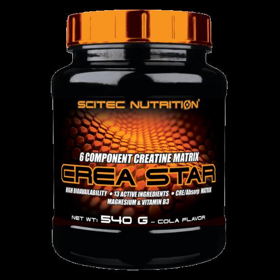 Scitec Nutrition Crea Star - 540g + ajándék C vitamin