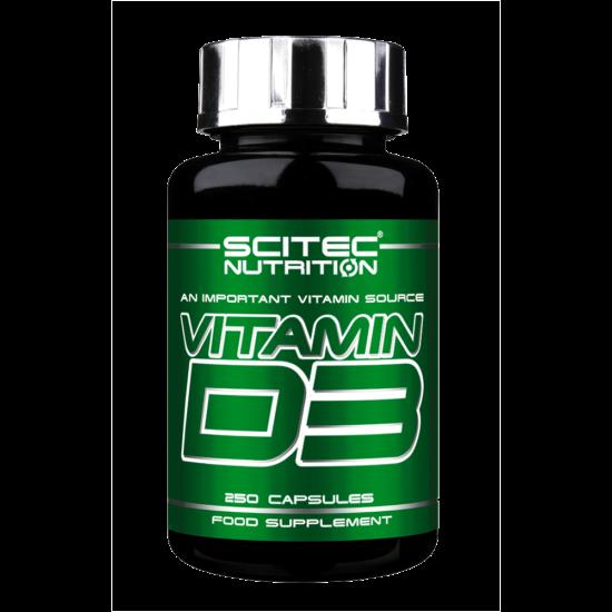 Scitec Nutrition Vitamin D3 kapszula 250db