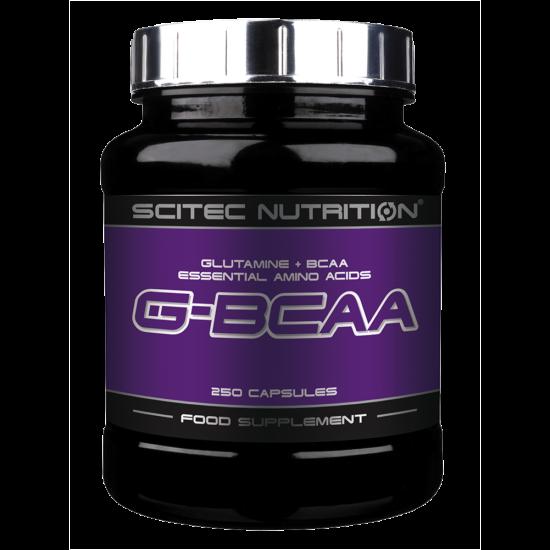 Scitec Nutrition G-BCAA kapszula 250db + ajándék C vitamin