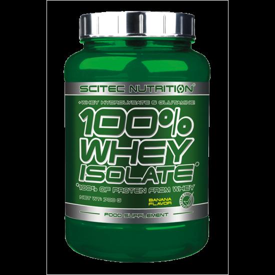 Scitec Nutrition 100% Whey Isolate - 700g + ajándék C vitamin