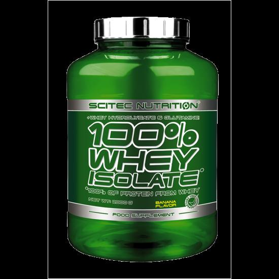 Scitec Nutrition 100% Whey Isolate - 2000g + ajándék C vitamin