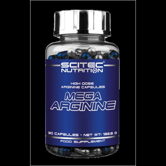 Scitec Nutrition Mega Arginine 90db  + ajándék C vitamin
