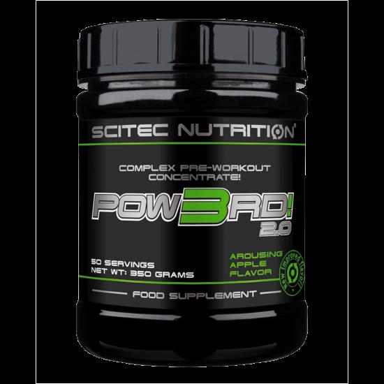 Scitec Nutrition Pow3rd! 2.0 - 350g + ajándék C vitamin