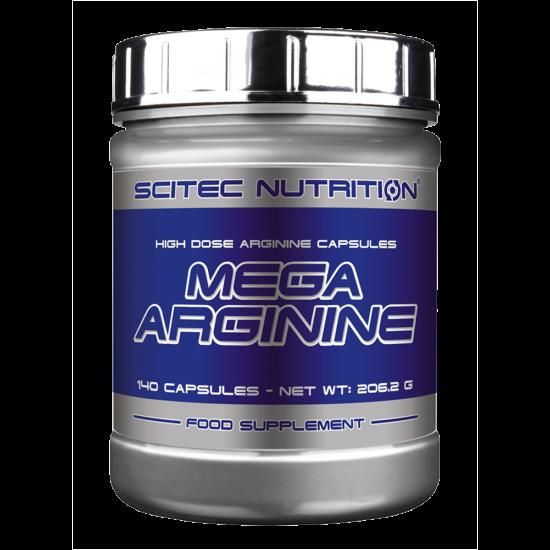 Scitec Nutrition Mega Arginine 140db + ajándék C vitamin