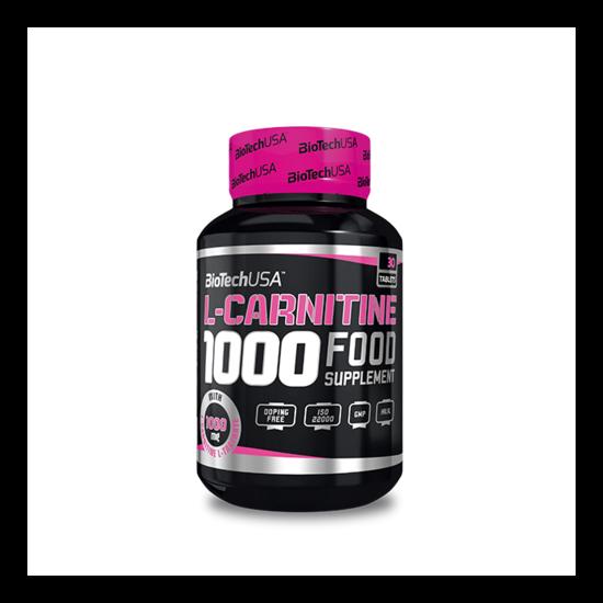 BiotechUSA L-Carnitine 1000mg - 60 tabletta