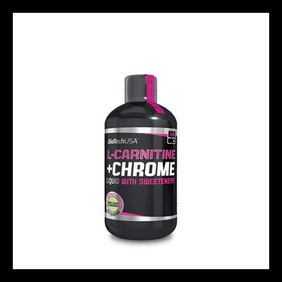 BiotechUSA L-Carnitine + Chrome 500ml Grapefruit