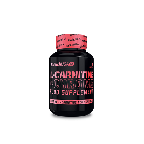 BiotechUSA L-Carnitine + Chrome 60 kapszula